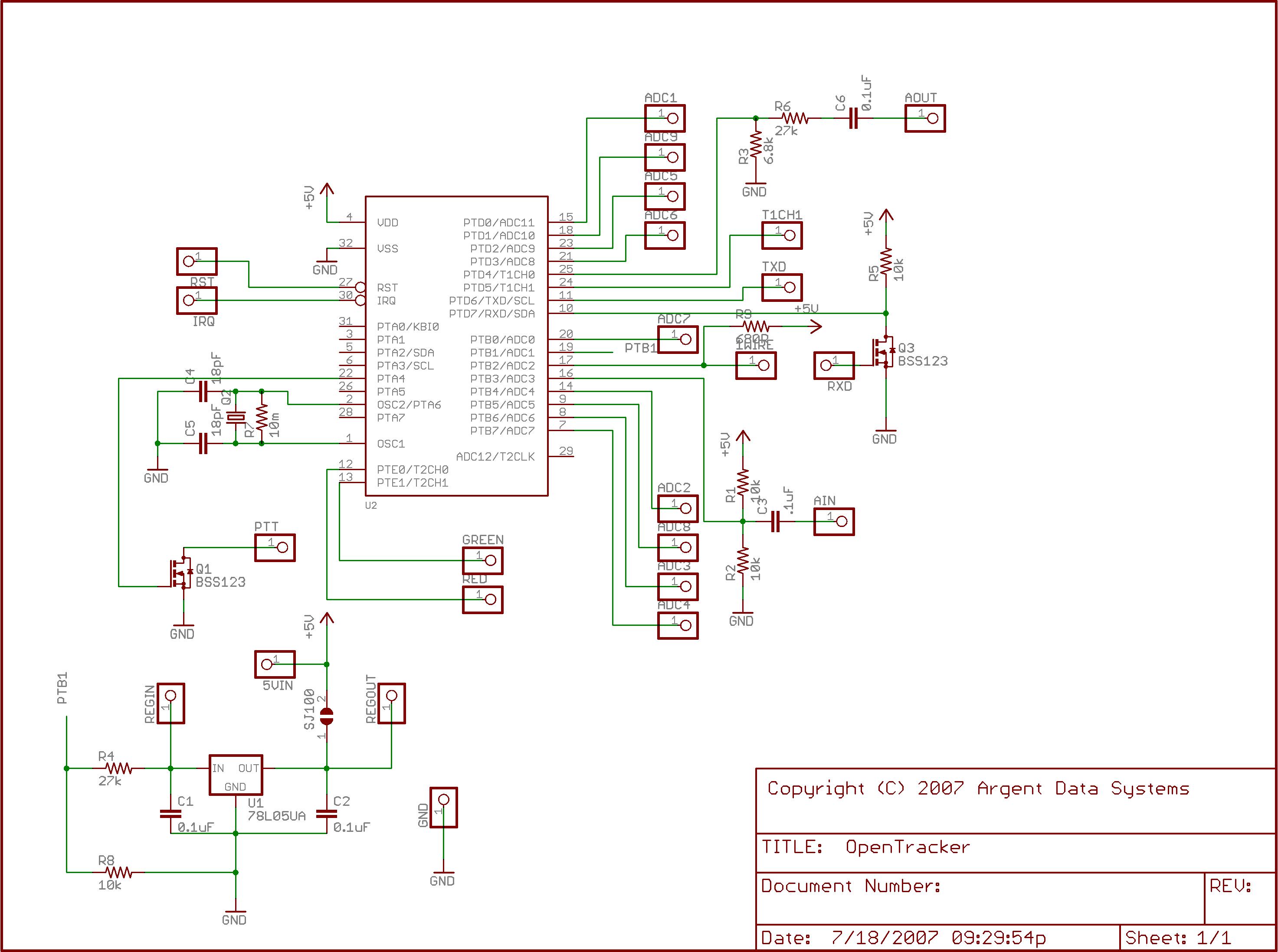 Opentracker Manual Schematicrev4